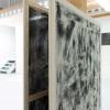 Von Hinten nach Vorne mal 2, each 120x150cm, acrylic on canvas