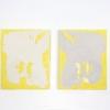 Sandwich, each 24x30cm, acrylic on canvas